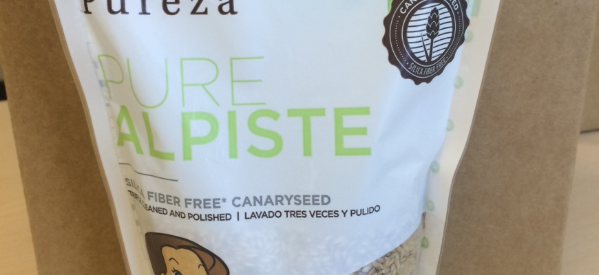 Pureza Brand Silica Fiber Free Canary Seed!